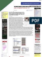 Using v-Racks in Digital Performer 4.6