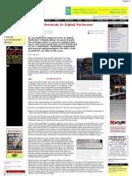 Creative Shortcuts in Digital Performer