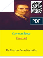 Common Sense by Thomas Paine Optimized
