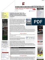Managing Audio Plug-Ins in Digital Performer