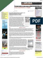 Practical Groove Quantisation in Digital Performer