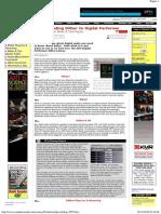 Understanding Dither in Digital Performer