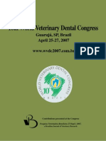 10th World Veterinary Dental Congress 2007 Brazil