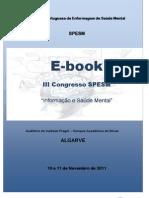 E-Book III Congresso SPESM - Informação e Saúde Mental