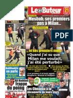 LE BUTEUR PDF du 21/01/2012