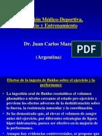 Hidratacion Medico Deportiva