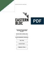 tech rider form easternbloc
