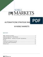 Forex Automatyczne Strategie Inwestycyjne