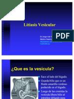 COLECISTECTOMIA+Litiasis Vesicular