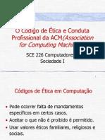 Senado - Slides -Ética -Código ACM