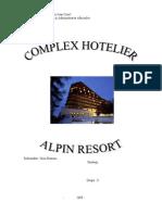 Gestiune Hoteliera - Hotel Alpin Brasov