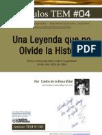 Carlos de la Rosa Vidal | Una Leyenda Que No Olvide La Historia