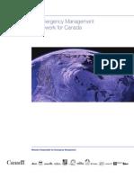 An Emergency Management Framework for Canada