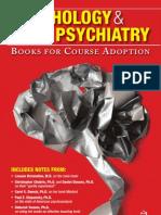 Psychology Psychiatry Catalog 2010 11
