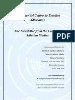 Newsletter Nº 4 Centro de Estudios Adlerianos