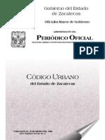 Codigo Urbano Zac.