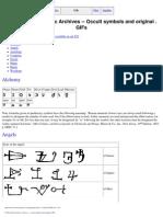 E-Book - Alchimia - Simboli Esoterici