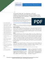 Tratamiento Con Acido Retinoico y Antraciclina LLA m3