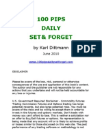 100 Pip Daily by Karl Dittman