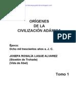 Origenes de la Civilizacion Adamica T1 - Josefa Rosalía Luque Alvarez