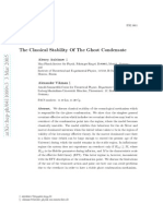 Alexey Anisimov and Alexander Vikman- The Classical Stability Of The Ghost Condensate