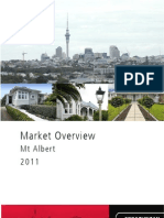 Market Overview 2011 Mt Albert