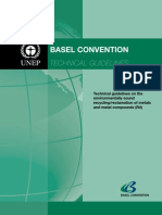 Basel Convention - Technical Guidance