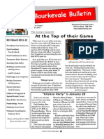 Bourkevale Bulletin - January, 2012