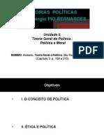 Espm 2008 2 Ri Teorias Politicas Unidade II (Cap.3) Politica e Moral Versao Aluno