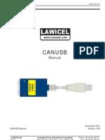 Canusb Manual