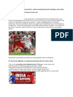 Borussia M'Gladbach vs FC Bayern Munich – another stunning defeat by the underdogs – game review and analysis