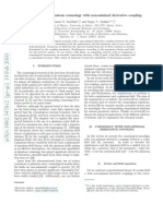Emmanuel N. Saridakis and Sergey V. Sushkov- Quintessence and phantom cosmology with non-minimal derivative coupling