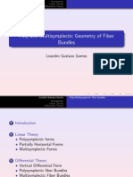 Leandro Gustavo Gomes- Poly and Multisymplectic Geometry of Fiber Bundles