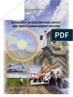 Guidelines on Occupational Safety and Health Management Systems Oshms