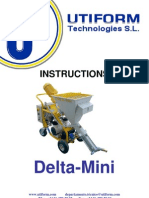Plasteirng Machine Mini User Manual
