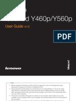 Lenovo Y560P User Manual