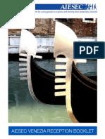 Aiesec Venezia Reception Booklet