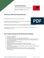 Anleitung Reklamationsbearbeitung
