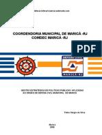 Artigo Fabio Defesa Civil COMDEC MARICÁ - RJ
