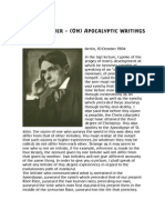 Rudolf Steiner - Apocalyptic Writings