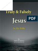 Truly & Falsely Jesus - English Version
