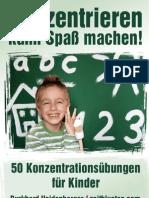 50 Konzentrationsuebungen Fuer Kinder