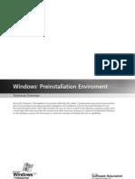 Windows PE Tech