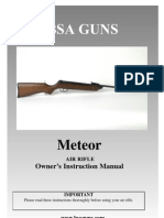 Manual - BSA - Meteor