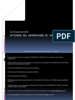 GU_SAP ECC6_Affichage Des In Formations de Lancement_ME54