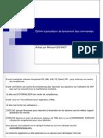 GU_SAP ECC_Définir la procédure de lancement des commandes