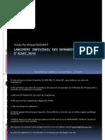 GU_SAP ECC_Lancement Individuel Des Demandes d'Achat_ME54