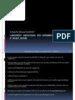 GU_SAP ECC_Lancement Individuel Des Demandes d'Achat_ME54N