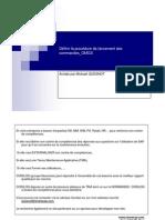 GU_SAP R3_ Définir la procédure de lancement des commandes_OMGS