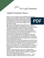 Translation Studies Handbook